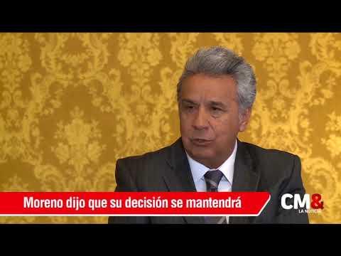 Lenín Moreno: Ecuador dejará de ser garante en diálogos de paz con ELN