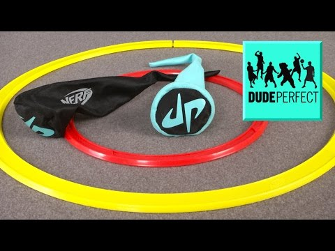 Nerf Sports Dude Perfect Toss Air-Tails toy from Hasbro review