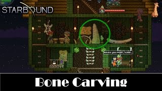STARBOUND - Carved Bone Location : Pleased Giraffe Stable