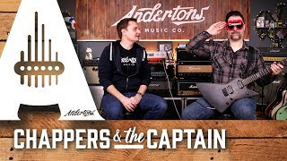 Blindfold Amp Challenge - Can Chappers spot his own signature amp?