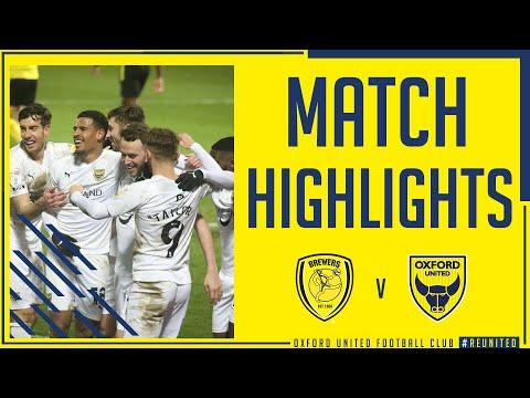 Burton Oxford Utd Goals And Highlights