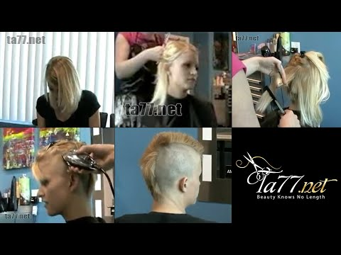 preview clip -- Kat s Head Shave in Stages from YouTube · Duration:  44 seconds