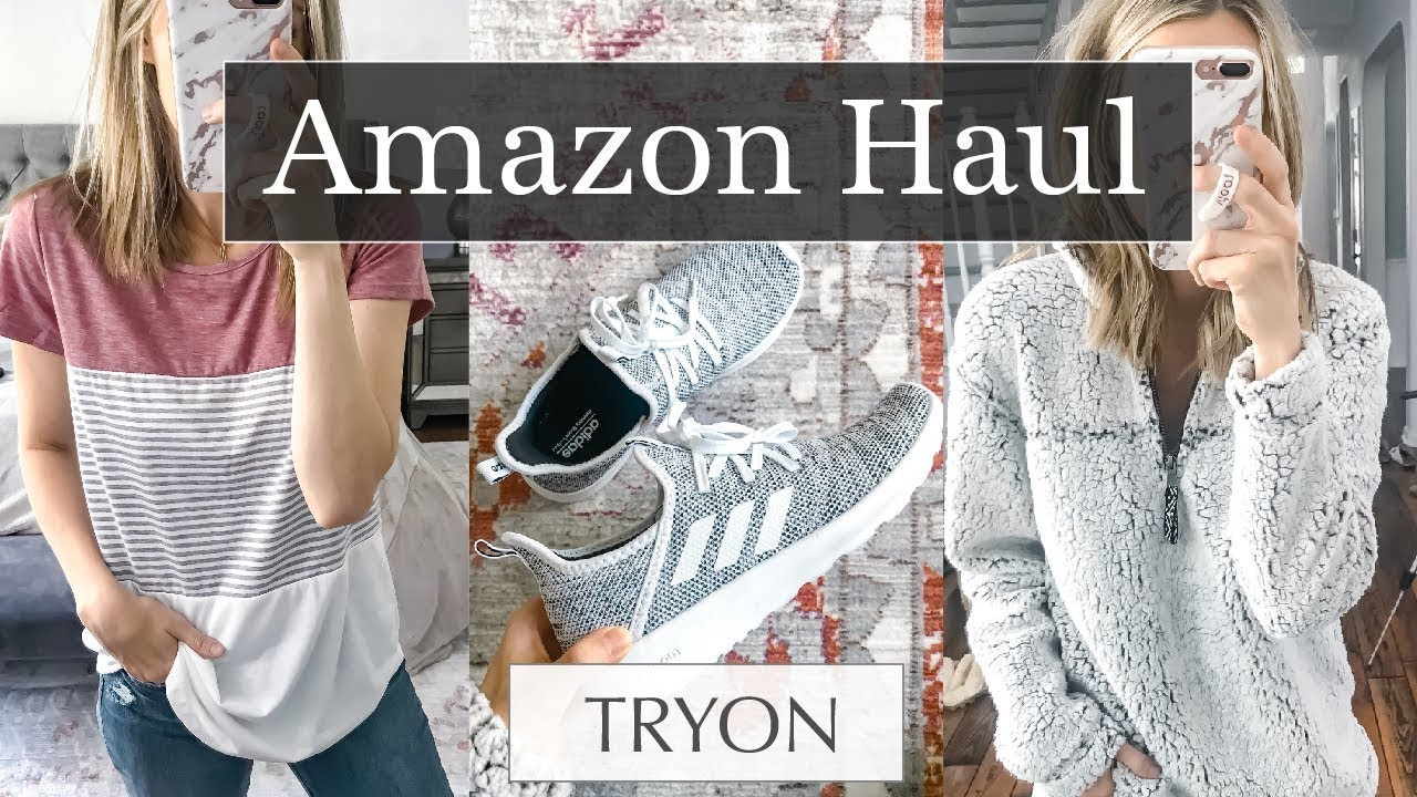 922756d16402 Huge Amazon Try On Haul  Great Basics!
