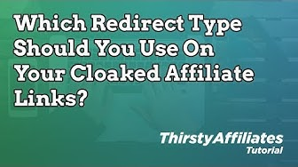 What Affiliate Link Redirect Type Should You Use On Cloaked Links?