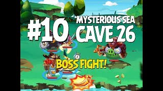 Angry Birds Epic Cave 26 Boss Fight! Level 10 - Mysterious Sea - 3 Star Walkthrough