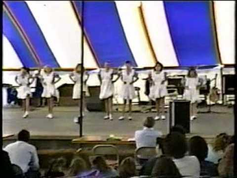 1989 Rhythm Express - Line Routine - NC State Fair