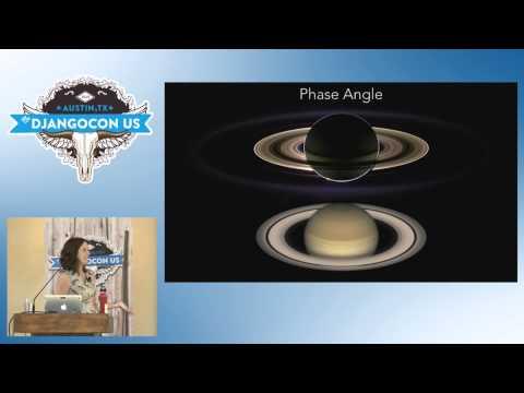 DjangoCon US 2015 - Exploring the outer Solar System with Django by  Lisa Ballard