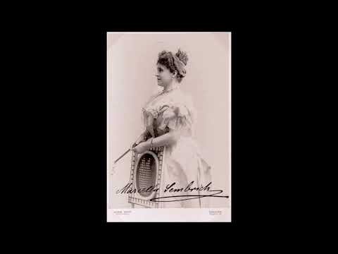 [Great sound] Sembrich: Traviata, Linda di Chamounix, Sonnambula, Semiramide & Frühlingslied