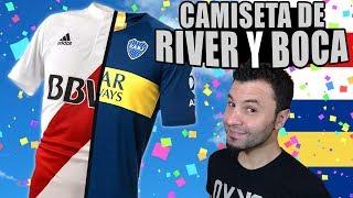 Combinando camisetas - RIVER Y BOCA