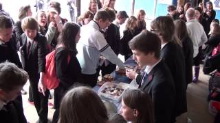 Tiverton High School Interact Cake Sale For Mary's Meals
