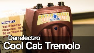 Danelectro Cool Cat Tremolo (+ LESSON on tremolo vs vibrato)
