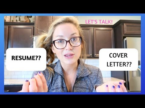 RESUME & COVER LETTER: Aesthetic & Cosmetic Nurse- let\'s chat!