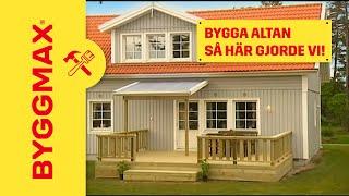 Bygga altan - Lär dig smarta lösningar och undvik misstagen