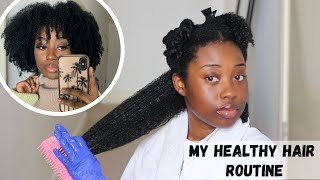 My Healthy Natural Hair Routine | Wash Day | Start to Finish
