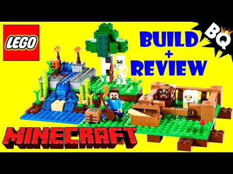 LEGO Minecraft Farm 21114 Build & Review
