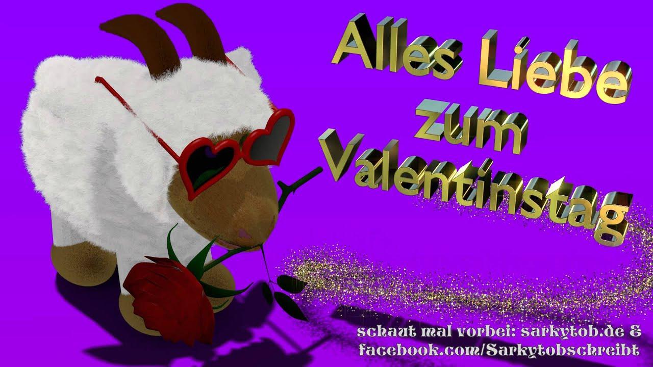 Alles Liebe Zum Valentinstag Bei Mir Bist Du Schön Ein