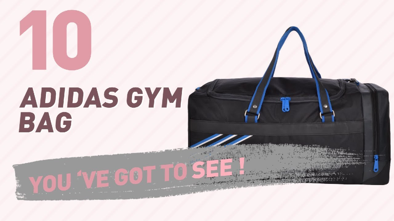 b2a2ba21444b Adidas Gym Bag For Women    New   Popular 2017 - YouTube