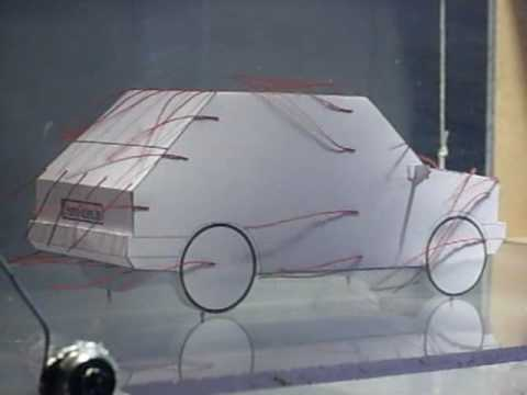 wind tunnel test (4) - optimized car