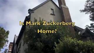 Is Mark Zuckerberg Home? Professor Hall Goes To Meet Facebook CEO Mark Zuckerberg  At SF Mansion