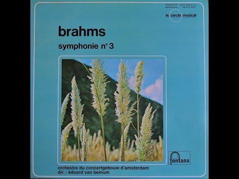 Brahms derde symfonie van Beinum 1956