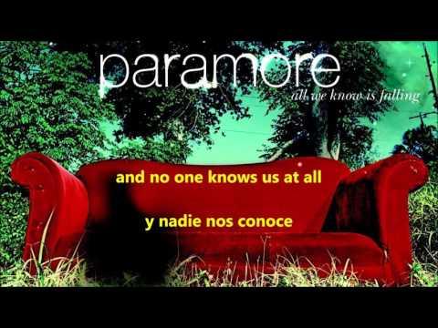 Franklin  Paramore lyrics Español  Ingles