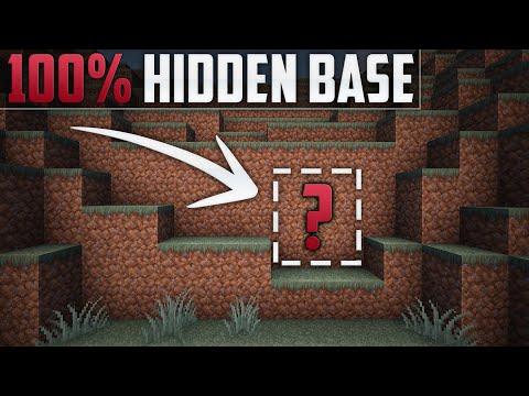 Minecraft: How To Build A Secret Base Tutorial (Hidden House)