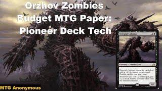Orzhov Zombies Budget Mtg Paper Pioneer Deck Tech Youtube Mason reyes's modern orzhov lifegain. youtube