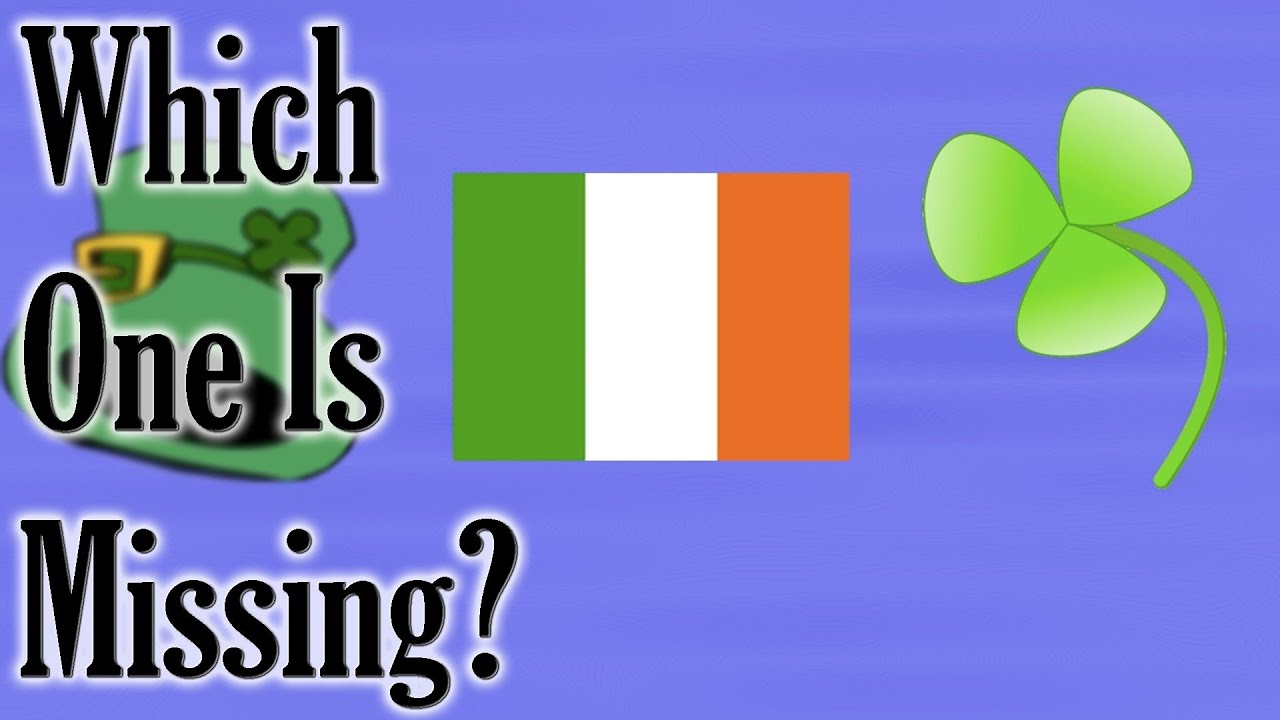 which one is missing st patrick u0027s day game for children youtube