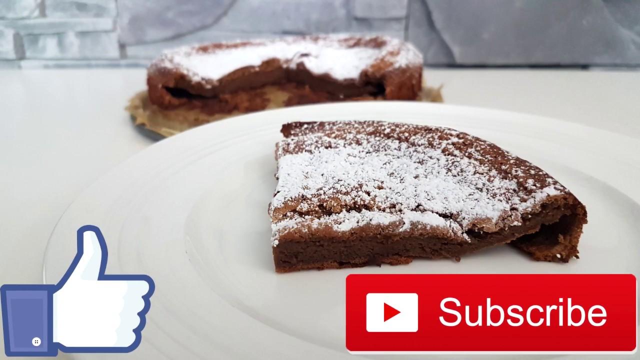 Fluffiger Schoko Kuchen Mit Nur 2 Zutaten Einfaches Rezept Youtube