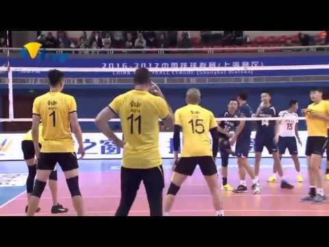 Shanghai vs Henan | 08 Jan 2016 | Chinese Men Volleyball League 2016/2017