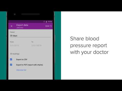 Bp Journal Blood Pressure Diary Apps On Google Play