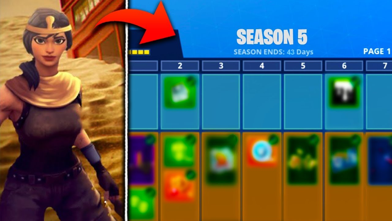 New Season 5 Battle Pass Skins Leaked In Fortnite Fortnite