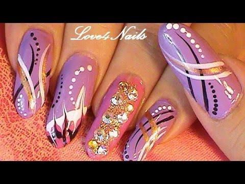 Urban Freestyle Bling Nails - Urban Freestyle Bling Nails - YouTube