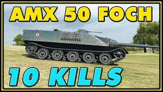 World of Tanks | AMX 50 Foch - 10 Kills - 6.1K Damage