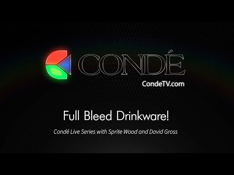 Friday Live!  Full Bleed Drinkware!