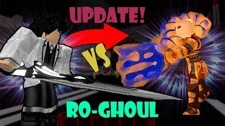 * HALLOWEEN UPDATE * KOSSHI KAGUNE VS OWL QUINQUE IN RO-GHOUL | Roblox