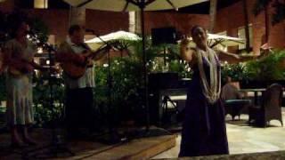 The Hawaiian Wedding Song with hula by the De Lima Ohana