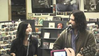 The Civil Wars live at Pegasus Records