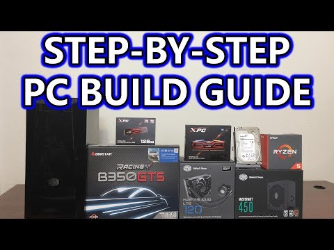 Ryzen 5 1600X - Step-By-Step Build - PC GIVEAWAY - Part 2