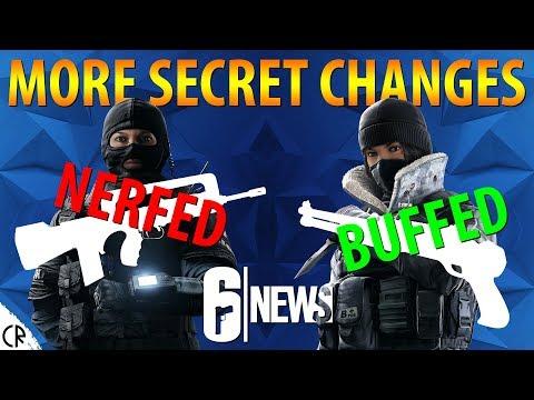 Twitch Nerf & Frost Buff - Weapon Changes - 6News - Tom Clancy's Rainbow Six Siege