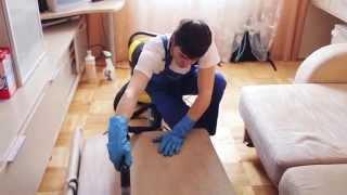 видео химчистка диванов на дому
