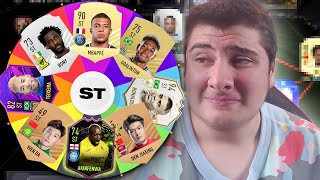 Spinning a WHEEL to decide my FUT Champs team... (FIFA 21)
