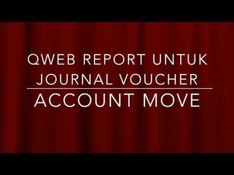 Odoo Developer Indonesia - Print Journal Voucher - vitraining com