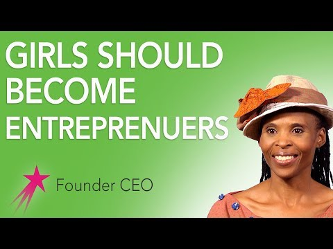 Founder CEO: Why Should Girls Consider Entrepreneurship - Mpho Letima Career Girls Role Model