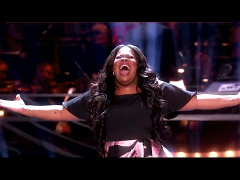 Amber Riley - And I'm Telling You I'm Not Going (Olivier Awards)