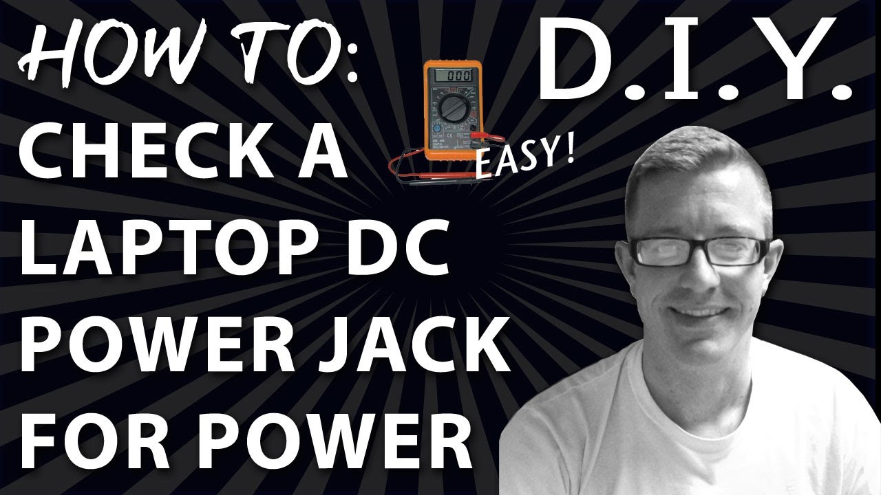 How To Check A Laptop Dc Jack For Power Youtube
