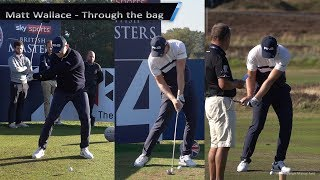 Matt Wallace Golf Swings through the bag (Driver, Long Iron, Mid-Iron & Short Iron) 2019.