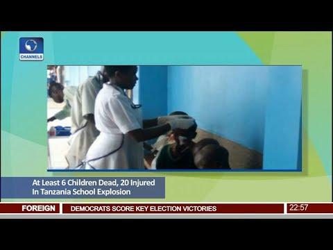 6 Children Dead, 20 Injured In Tanzania School Explosion Pt.4 |News@10| 08/11/17