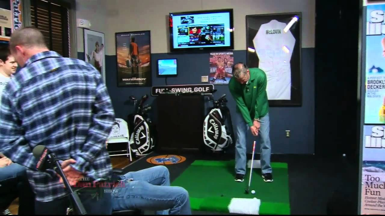 Man Caves Dan Patrick : Dan fritzy and seton closest to hole contest patrick show