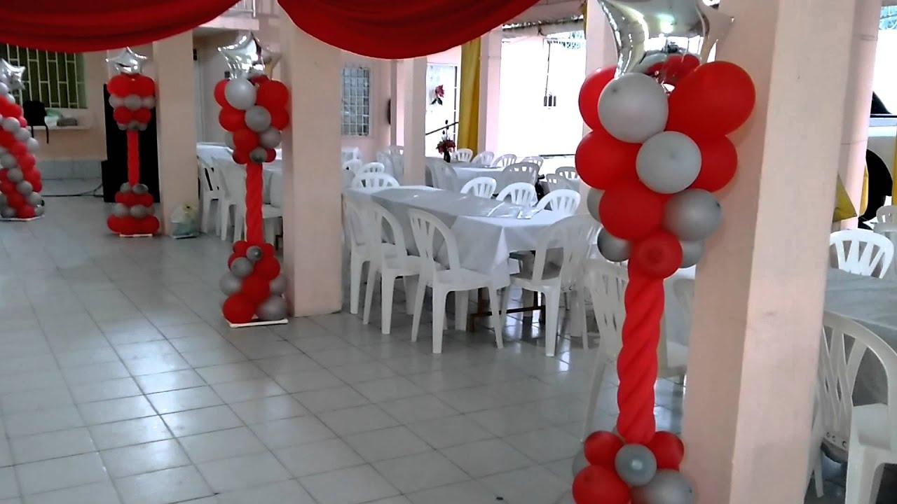 Como Decorar Un Salon De Fiestas Para Boda